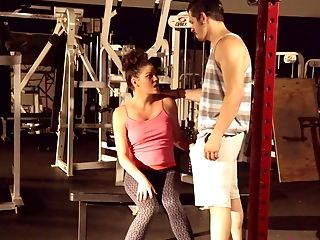 Beautiful Sport Honey Jessica Rex Gets Her Fuckbox And Boobies Fucked At The Gym
