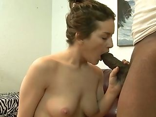 Black Horny Dawg Tongues Sweet Kitty Of His Sweet Milky Bitch
