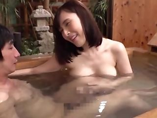 Japanese Red-haired Deepthroats And Rails A Dick In The Public Bathroom