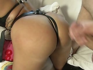 Layla Price Loves Pegging Her Man And She's Got Booty For Days