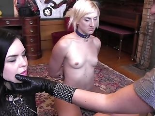 Ultra-kinky Lezzies Sadie Lune And Her Friend Know How To Please Each Other