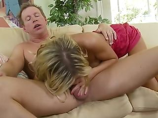 Horny Superstar Mckenzee Miles In Greatest Pussy Eating, Blonde Adult Clip