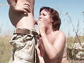 Horny Mummy Gets Her Hairy Muf Fucked Part2