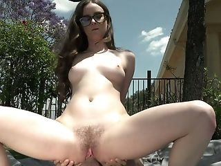 Jay Taylor Is A Super-naughty Dark Haired Who Indeed Loves To Be Fucked Outdoors