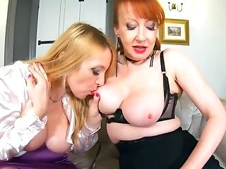 Crimson Xxx And Lucy Gresty Get Down And Dirty