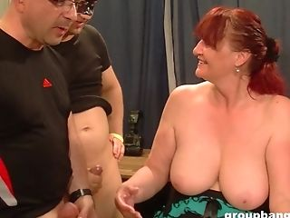 Matures Stunners Have Fun With Each Other And With A Big Dick