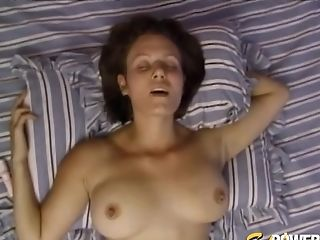 Homemade Pornography Flick With An Older Boy And First-timer Wifey Sarah B.