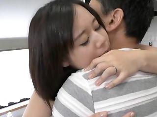 Huge-boobed Japanese Cougar Stunner Tsukada Shiori Fucked Hard In The Kitchen