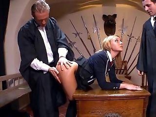 Amazing Pornographic Star Nataly Von In Incredible Threeways, Hd Porno Scene