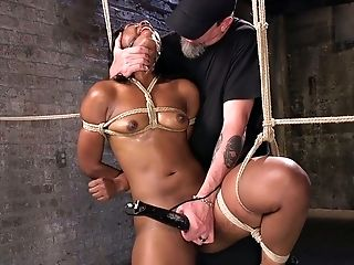 One Gam Suspension Is What Black Nymphomaniac Chanell Heart Thirsts For