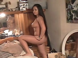 Lengthy Haired Dark-haired With Appetizing Donk Gets Fucked Rear End Style