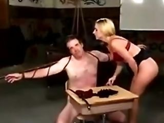 Fuck Toy Gets Mistreated By His Mistress