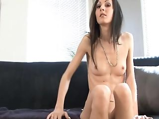 Dark Haired Cougar Drills Her Butthole With Faux-cock