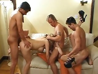 Jamie Forest Gags Bellows And Screams While Butt-fucked