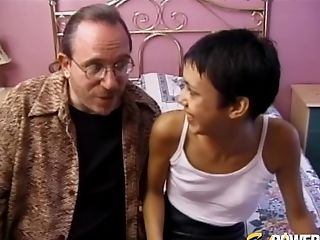 Unexperienced Fucking Inbetween An Old Man And Skinny Inexperienced Fuckslut Tamara