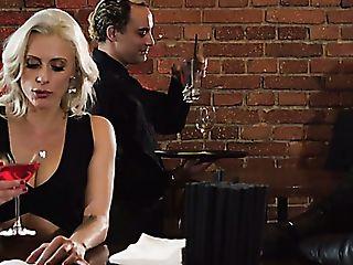 Svelte Torrid Blondie Brittany Bardott Has Found A Good Chance To Love Mmf