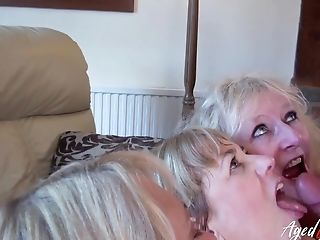 Matures Blonde Whore Claire Shares Dick For A Truly Voluptuous Suck Off