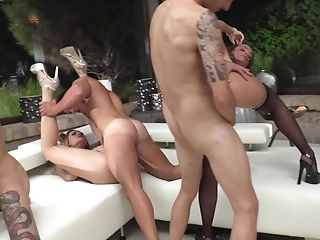 Blue Angy And Other Nymphs Want To Fuck With More Guys At Once